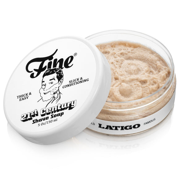 Fine Accoutrements - 21st Century Shave Soap - Latigo