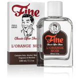 Fine L'Orange Noir Classic Aftershave is an elegantly formulated throwback to a time before shaving was refashioned into dermatology.  Expect to immediately fall in love with its refreshing face feel - accompanied by a masterfully refined fragrance that's as appealing to those of conventional tastes as it is to the avant-garde. Inspired by Terre d'Hermes (2006), the scent pairs rich earth with a hint of dry orange, and there's no better choice for the man who refuses to be categorized.