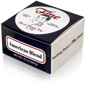 Fine Accoutrements - Classic Shaving Soap Tub - American Blend