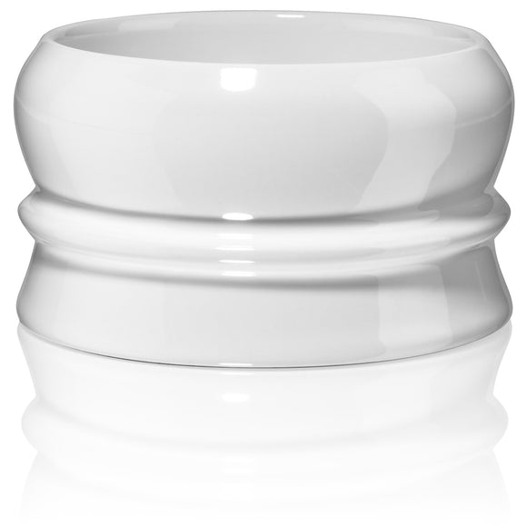 Fine Accoutrements - Soap Bowl - White