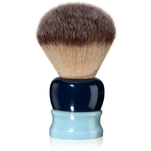 Fine Accoutrements - Stout Shaving Brush - Dark Blue & Light Blue
