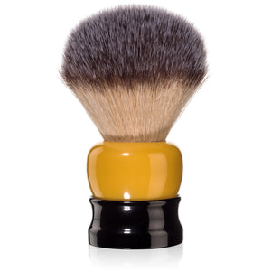Fine Accoutrements - Stout Shaving Brush - Orange & Black