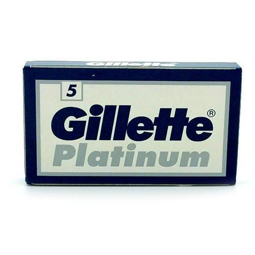 Gillette - Platinum Double-Edge Razor Blades - 5 Pack