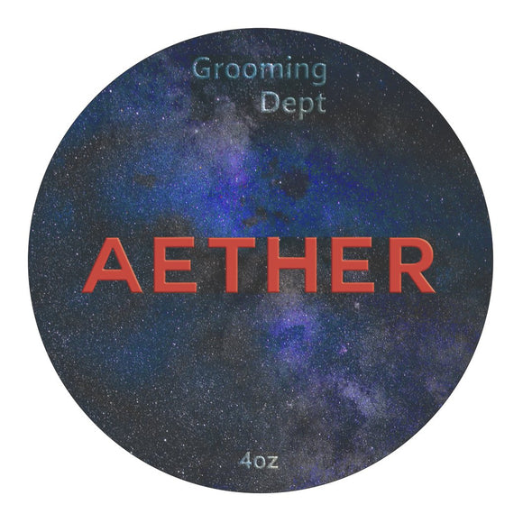 Grooming Dept. - Kairos Tallow Shaving Soap - Aether