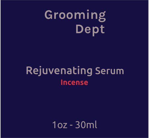 Grooming Dept. - Rejuvenating Serum - Incense