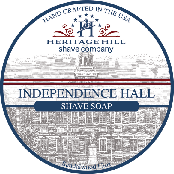 Heritage Hill Shave Company - Shave Soap - Independence Hall