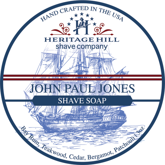 Heritage Hill Shave Company - Shave Soap - John Paul Jones
