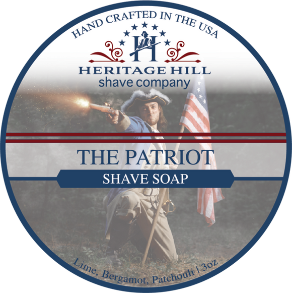 Heritage Hill Shave Company - Shave Soap - The Patriot