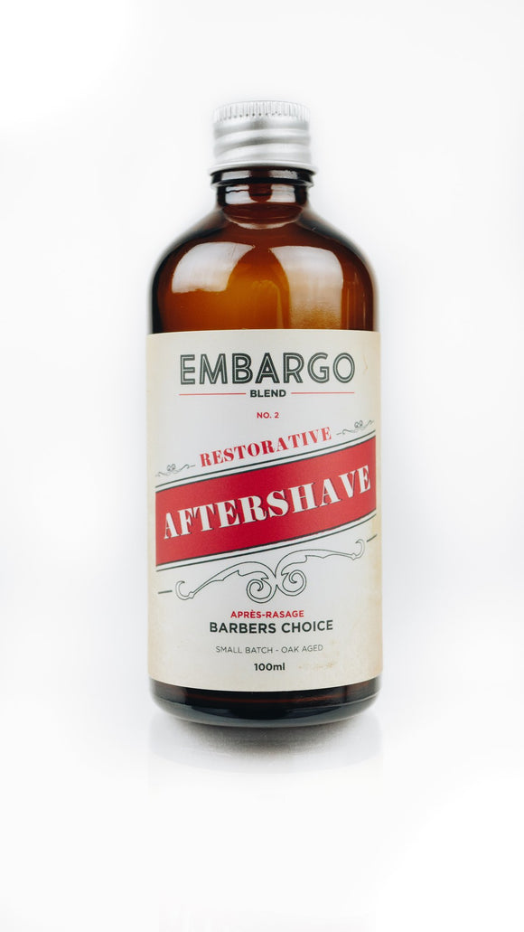 Historic Brands - Craft Aftershave Splash - Embargo Blend No. 2