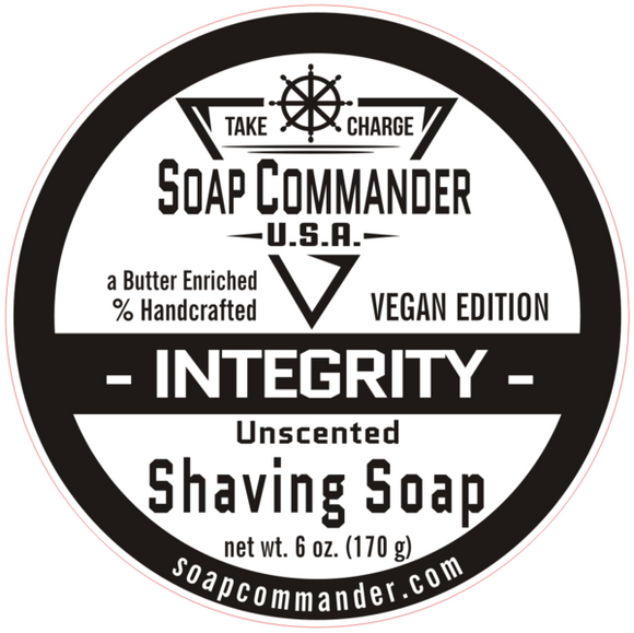 Soap Commander - Shaving Soap - Integrity
