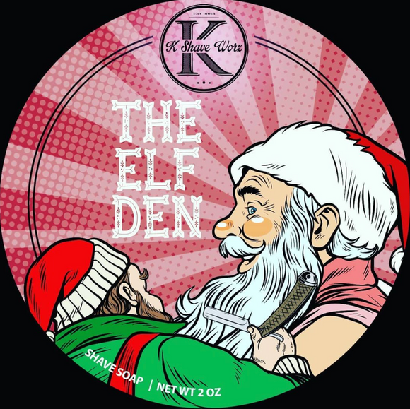 Shave Worx - Limited Edition Shave Soap - The Elf Den - 2oz
