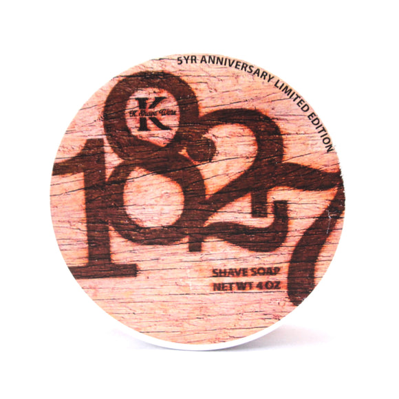 K Shave Worx  - Limited Edition Tallow Shave Soap - 1827