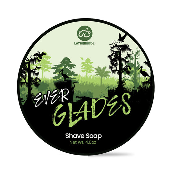 Lather Bros. - Limited Edition Shave Soap - Everglades