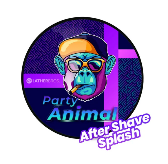 Lather Bros. - Aftershave Splash - Party Animal
