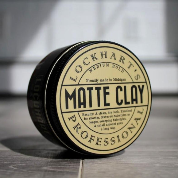 Lockhart's Professional Matte Clay Medium Hold