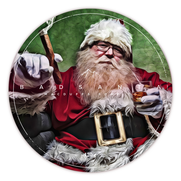 MacDuffs Soap Co. - Shaving Soap - Bad Santa