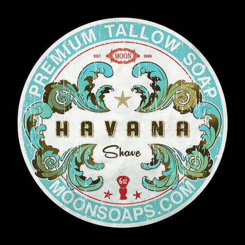 Moon Soaps - Shaving Soap - Havana