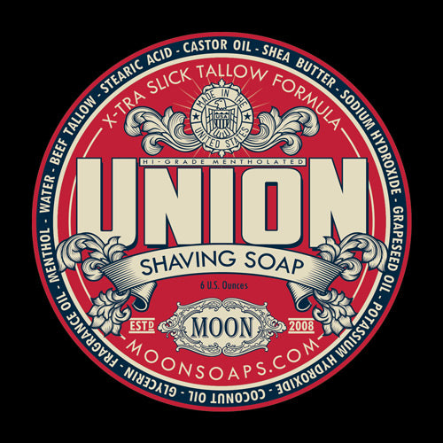 Moon Soaps - Shaving Soap - Union
