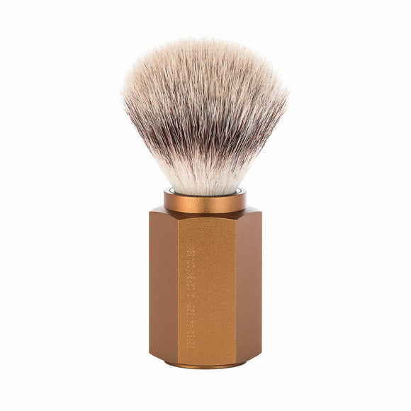 Muhle Hexagon - Bronze Synthetic Shave Brush