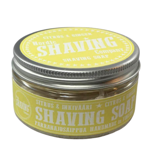 Nordic Shaving Company shaving soap, citrus & ginger  Our own traditional shaving soaps are made with love and many years of experience in wet shaving to meet the high expectations of true wet shavers.