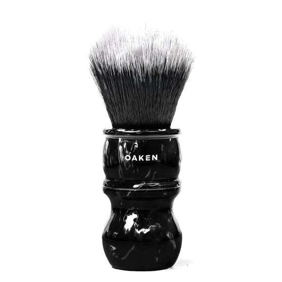 Oaken Lab - Synthetic Shaving Brush - Black Graphite - 24mm