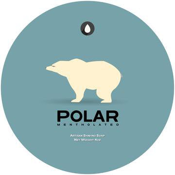 Oleo Soapworks Polar Shaving Soap, 4oz