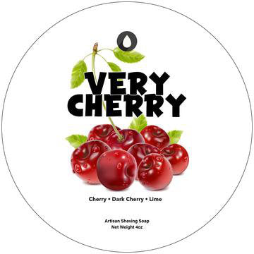 A tart juicy Cherry scent!  Scent notes: Cherry, Dark Cherry & Lime  A traditional hot process handmade shaving soap formulated especially for wet shaving poured into low profile container to allow for easy brush loading.   (This product requires a shaving brush)  Ingredients: Stearic Acid, Water, Kokum Butter, Potassium Hydroxide, Palm Kernel Oil, Duck Fat, Sodium Hydroxide, Castor Oil, Glycerin, Jojoba Oil & Sodium Lactate