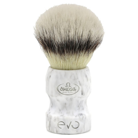 Omega  - E1858 Evo Synthetic Fiber Shaving Brush