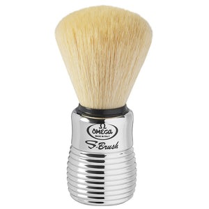 Omega S-Brush Synthetic Fiber Shaving Brush S10081
