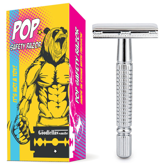 The GoodFellas Smile - POP - Closed Comb Safety Razor