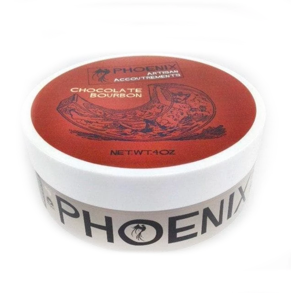 Phoenix Artisan Accoutrements - Shaving Soap - Chocolate Bourbon