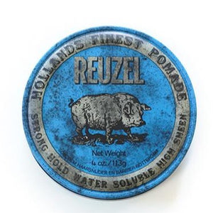 Reuzel - Pomade - Blue - Strong Hold High Sheen - Water-Based