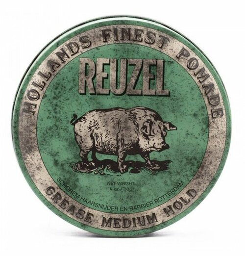 Reuzel - Pomade - Green - Medium Hold Grease