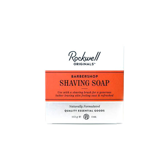 Rockwell Razors Shave Soap Refill Puck - Barbershop Scent