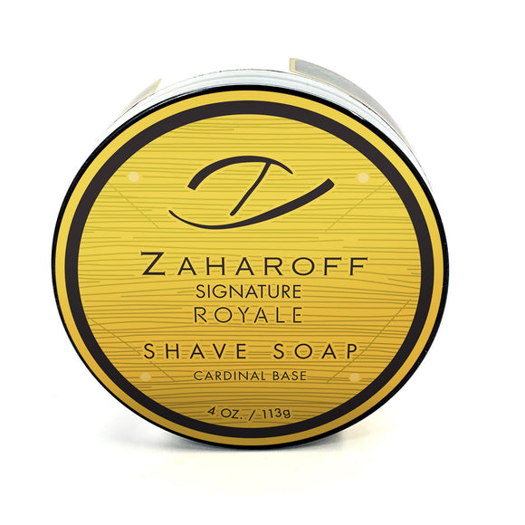 Gentleman's Nod - Zaharoff Signature Royale Shave Soap