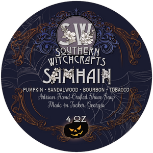 Southern Witchcrafts Shave Soap - Samhain - Vegan