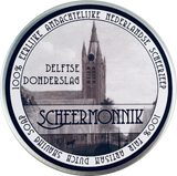 DELFTSE DONDERSLAG  A deep fragrance with amber and lavender, combined with myrrh, vanilla, tonka bean, musk and clary sage.  Scheermonnik (or 'shaving monk' in English) is an artisan shaving soap from the historic city center of Delft in the Netherlands. Handmade in small batches to ensure optimal quality, each decadent tin is good for 100+ shaves. With Scheermonnik soap it is actually possible to finish a tin of soap with the same high standard every shave.