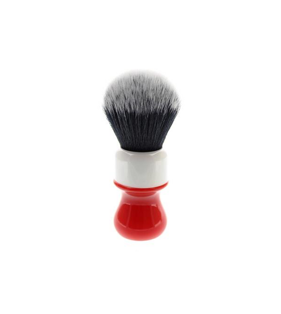 Yaqi Ferrari Rough Complex White Tuxedo Synthetic Shaving Brush