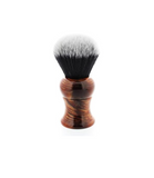 Yaqi Mixed Red Handle Tuxedo Synthetic Shaving Brush