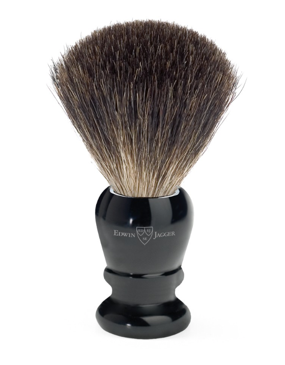 Edwin Jagger Pure Badger 81P46 Imitation Ebony Shaving Brush
