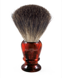 Edwin Jagger 81P43 Imitation Tortoiseshell Shaving Brush (Pure Badger)