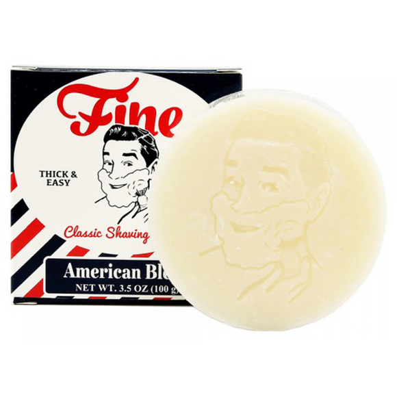 Fine Accoutrements Classic Shaving Soap Puck, American Blend, 3.5 Oz
