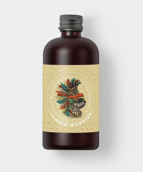 Noble Otter - Jungle Warrior Aftershave