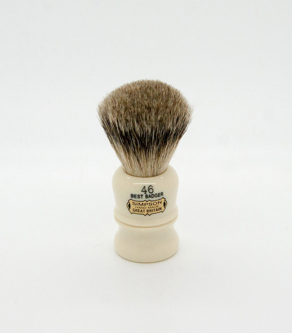 Simpsons Berkeley B46 Best Badger Shaving Brush