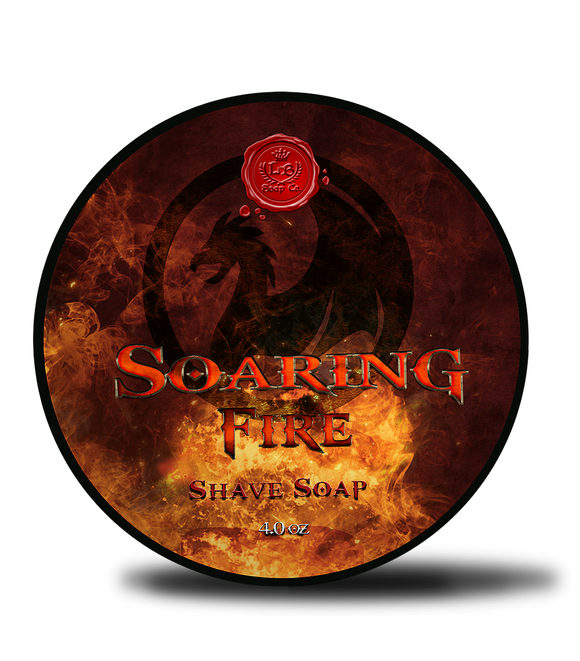 Lather Bros. - Soaring Fire - Shave Soap Limited Edition