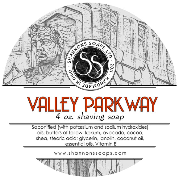 Shannon's Soaps - Shaving Soap - Valley Parkway