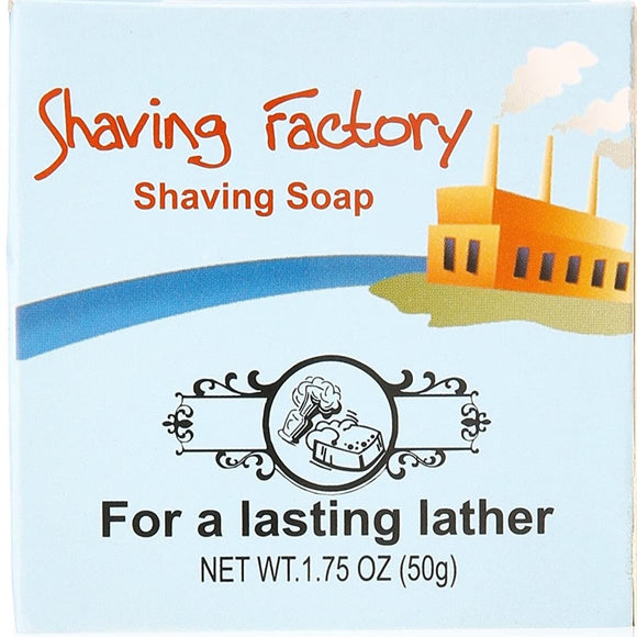 Shaving Factory Shaving Soap, 1.75 Ounce
