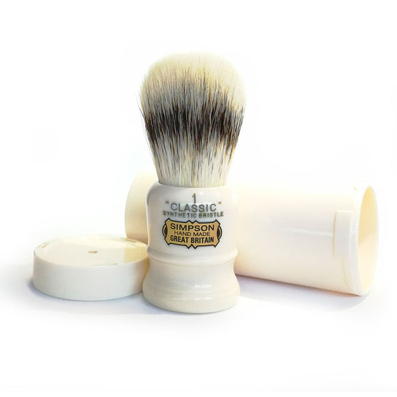 Simpson - Classic 1 Synthetic Badger Shaving Brush