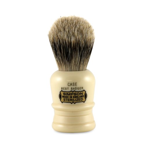 Simpsons Case C1 Best Badger Shaving Brush