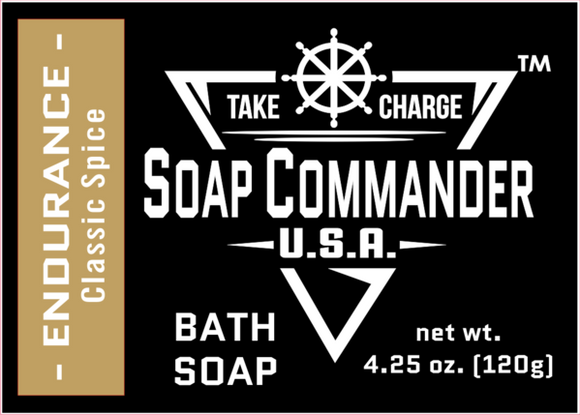 Soap Commander - Bath Soap - Endurance